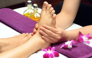 Техника выполнения тайского массажа для ног и стоп