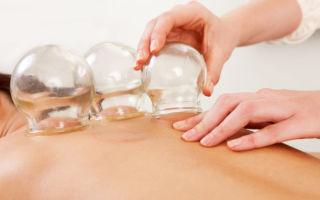 Особенности и техника баночного массажа спины