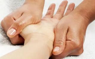 Техника массажа рук, ладоней, кистей, предплечья