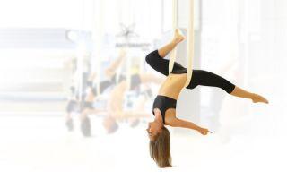 Применение йоги антигравити