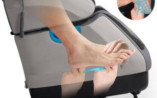 Как выбрать массажный аппарат для ног