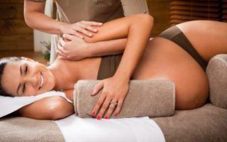 Проведение массажа при беременности: на 1, 2 и 3 триместре