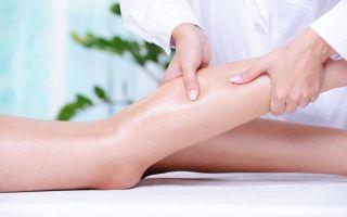 Как делать массаж ногправильно