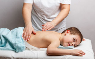 Виды и техника детского лечебного массажа