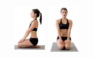 Алмазная позиция в йогической практике — Ваджрасана