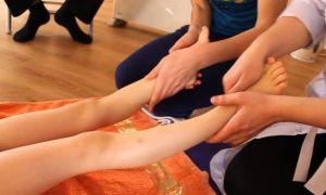 Детский массаж ног в домашних условиях