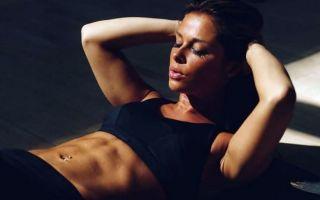 Как девушке правильно накачать мышцы пресса