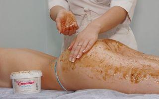Выполнение медового антицеллюлитного массажа в домашних условиях
