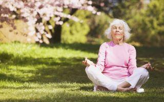 Комплексы йоги для пожилых