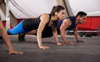 Основные составляющие тренировки кроссфит дома