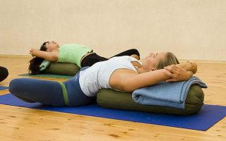Йога для вздутия живота