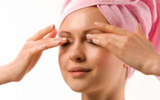 Проведение массажа глаз при заболеваниях