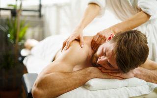 Как делать массаж спины любимому мужчине