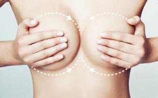 Массаж груди в период кормления для лактации