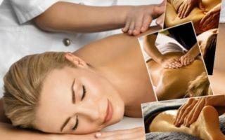 Техника выполнения общего массажа тела
