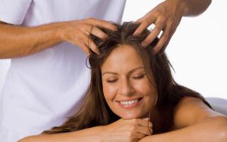Техника трихологического массажа от выпадения волос