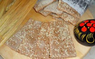 Польза ржаных хлебцов для спортивного питания