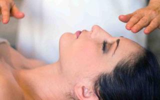 Техника бесконтактного массажа