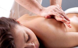 Техника проведения лечебного массажа спины