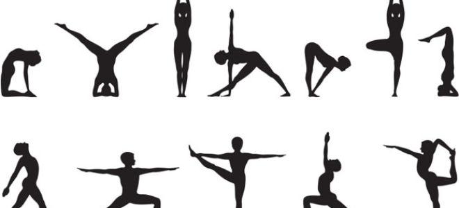 Асаны йоги для самостоятельного занятия