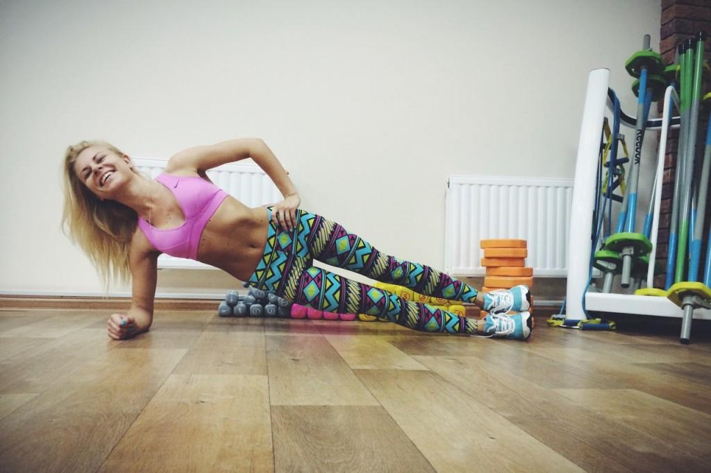 Боковой мостик пример упражнения