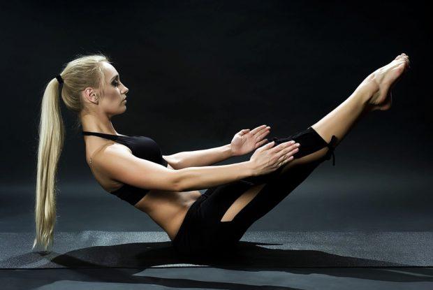 Упражнения пилатес для мышц пресса