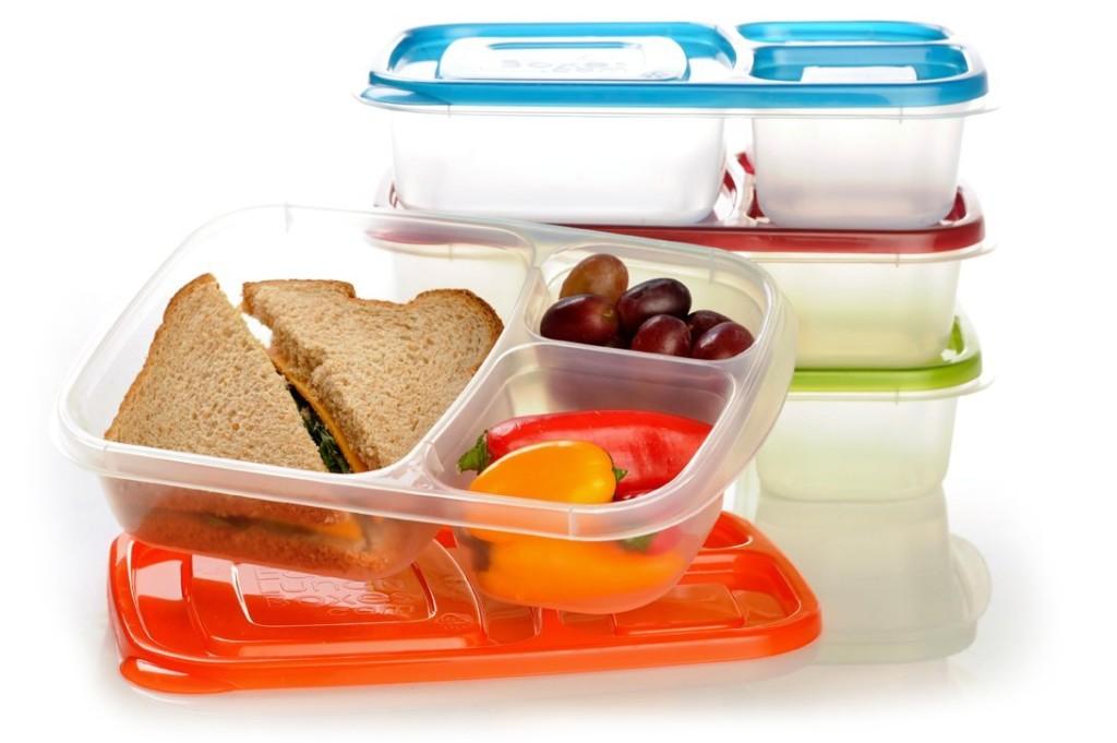 Контейнер для еды - вещь, в которую удобно складывать питание для тренировок