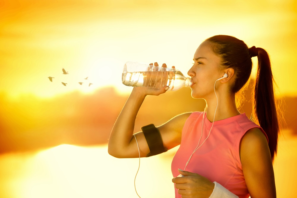Важно пить достаточно воды