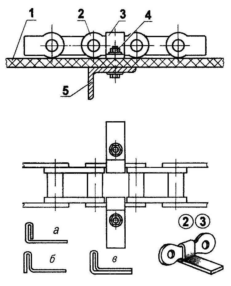 Схема дорожки