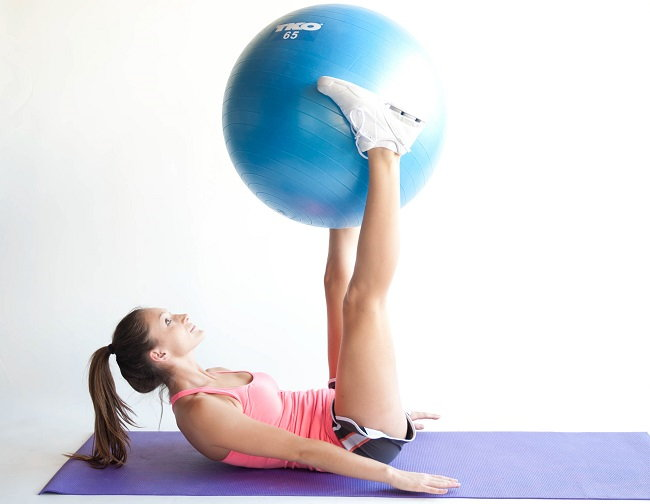 Упражнение для живота