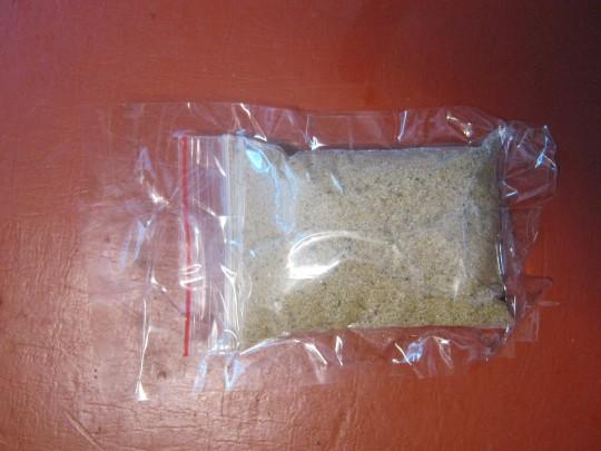 Зиппер-пакет с песком