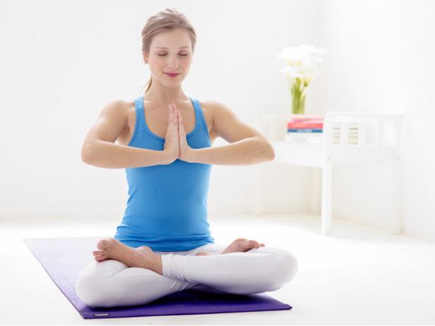 Падмасана - идеальная поза длямедитации