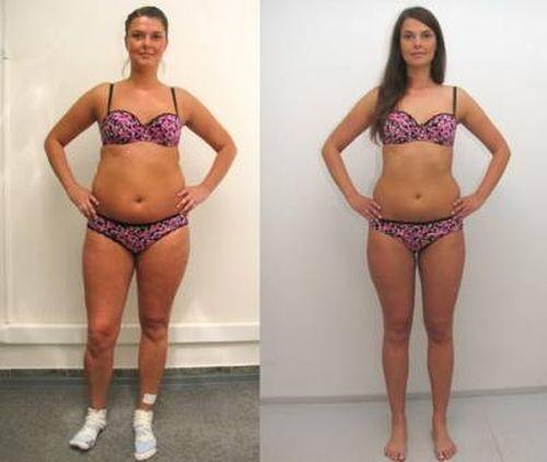 Похудение: до и после 3 месяцев йоги