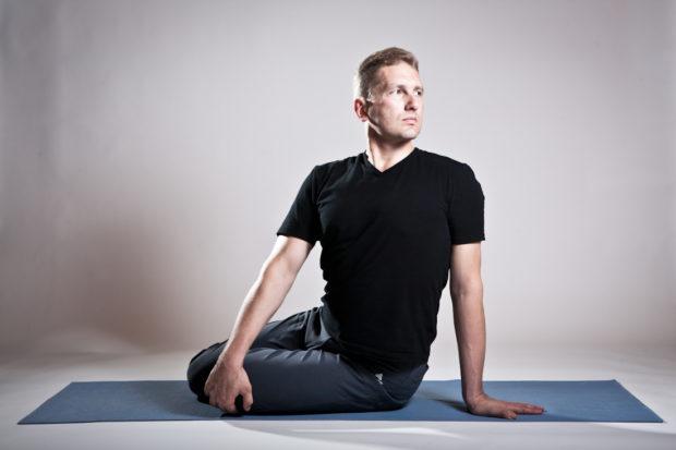 Скручивание очень полезное упражнение