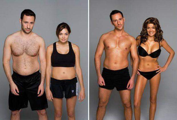 как правильно сжигать жир на животе