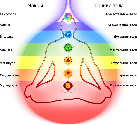 Влияние хатха йоги на чакры