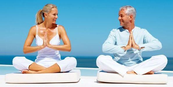 Йога позволяет держать тело и дух в порядке