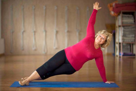 Йога позволяет естественно сбросить вес