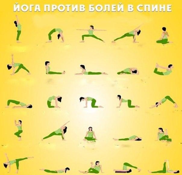 Комплекс асан йоги для спины