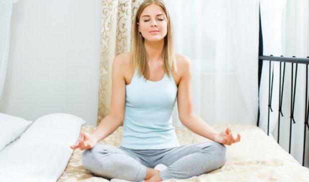 Мудра «gijan» для медитации