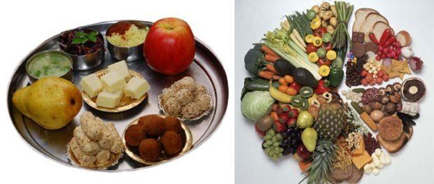 Питание при йоге долдно быть здоровым