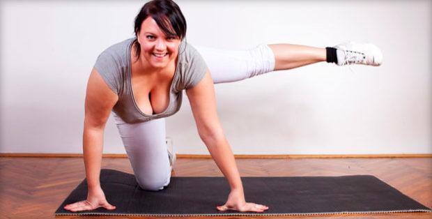 Занятия для похудения надо начинать с разминки