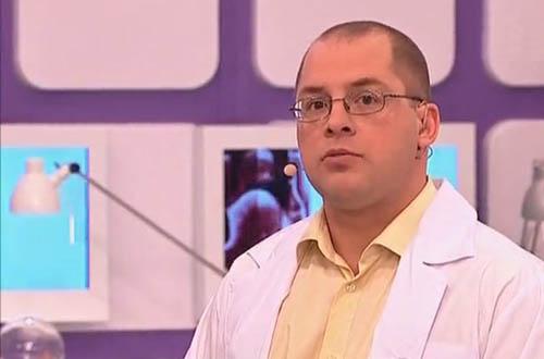 Сергей Агапкин на ТВ