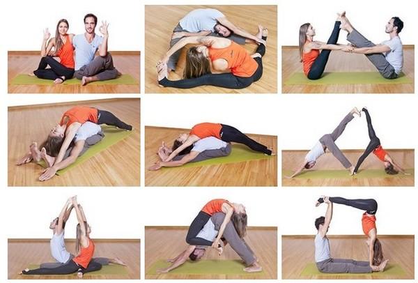 Сложные асаны для парной йоги