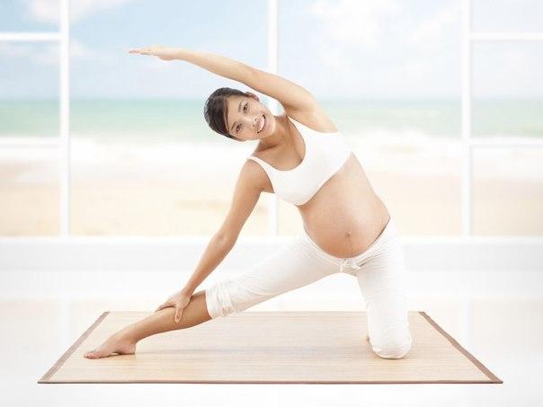 Йога - тренировка мышц перед родами
