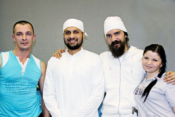 Меркулов на фестивале кундалини йоги