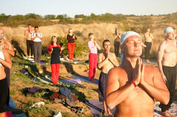 Приветствие Солнцу - комплекс для тела и духа