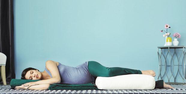 Поза отдыха для беременных