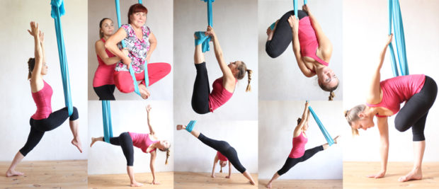 Антигравити йога для похудения позволяет быстро сбросить вес