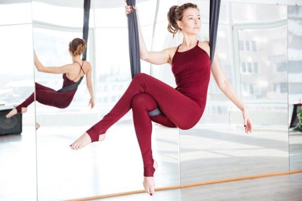 Антигравити йога полезна для фигуры